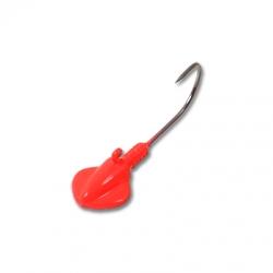 Fluorescent Red Freshwater Gitzem Jig
