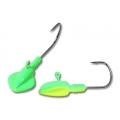 Chartreuse/Lime Freshwater Gitzem Jig