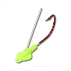 Green Chartreuse Weedless Gitzem Jig