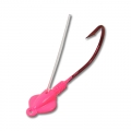 Hot Pink Weedless Gitzem Jig